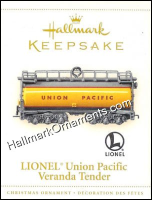 2006 Lionel Union Pacific Tender