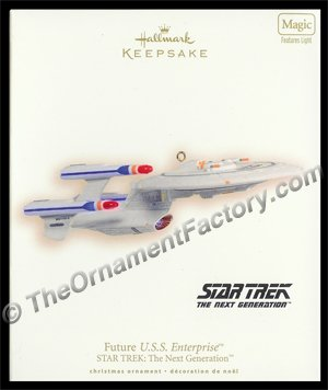 2007 Future U.S.S. Enterprise, Star Trek - DB