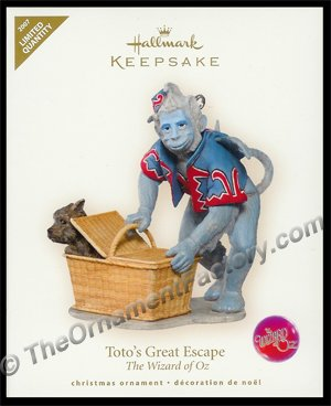 2007 Toto's Great Escape, Wizard of Oz - RARE