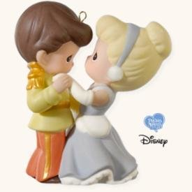 2008 Cinderella and Her Prince, Disney, Precious Moments