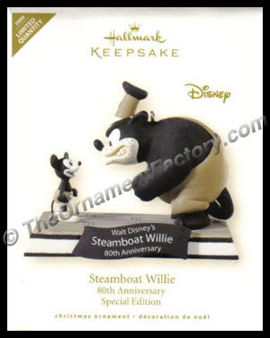 2008 Steamboat Willie, Limited Edition, Disney