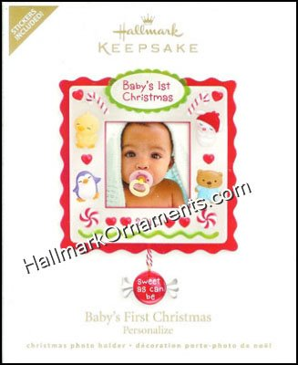 2010 Baby's First Christmas, Photoholder