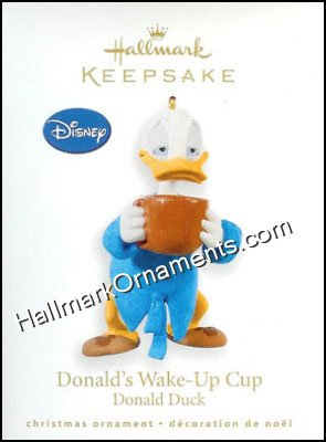 2010 Donald's Wake Up Cup, Disney