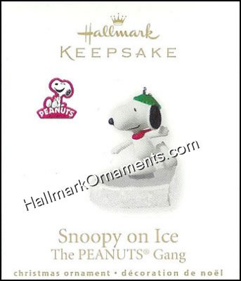2010 Peanuts On Ice, Snoopy - Rare