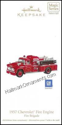 2011 1957 Chevrolet Fire Engine, Fire Brigade #9