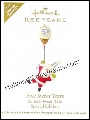 2011 Five Sweet Years, Santa's Sweet Ride, LIMITED QTY
