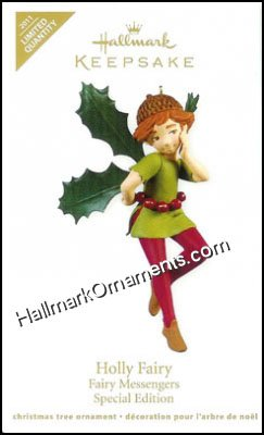 2011 Holly Fairy, Fairy Messengers, LIMITED QUANTITY