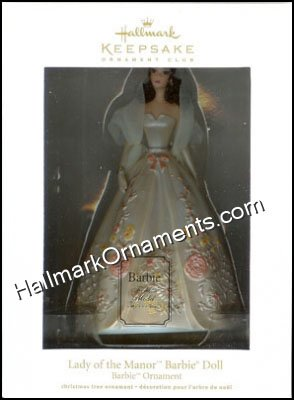 2011 Lady of the Manor Barbie, Club Ornament