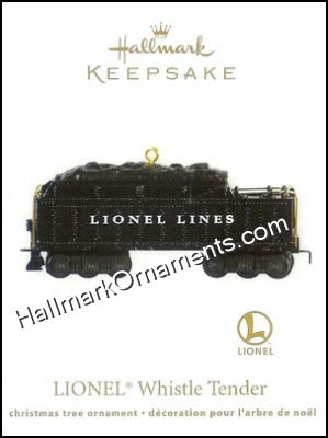 2011 Lionel Whistle Tender DB