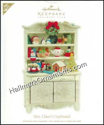 2011 Mrs Claus's Cupboard, EVENT - RARE
