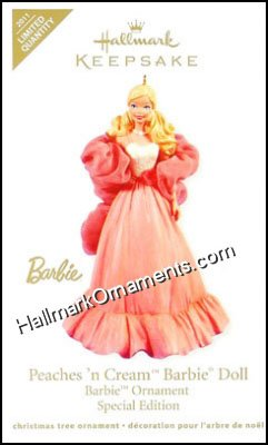 2011 Peaches N Cream Barbie, LIMITED QUANTITY