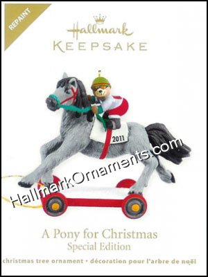 2011 Pony For Christmas, COLORWAY, LIMITED QUANTITY