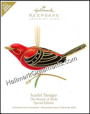 2011 Scarlet Tanager, Beauty of Birds, COLORWAY, EVENT - RARE