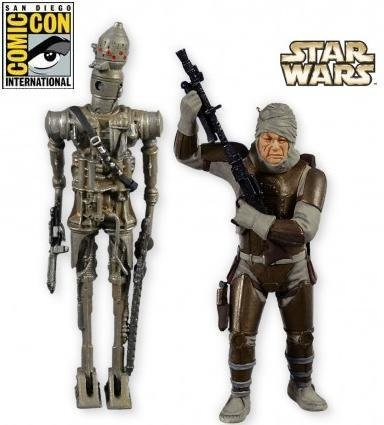 2011 IG-88 and Dengar, Star Wars, SDCC, RARE!