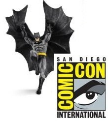 2011 Descending Upon Gotham, Batman, SDCC, RARE!