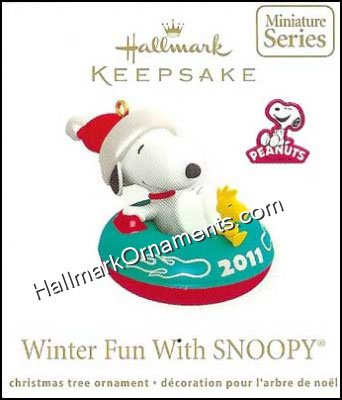 2011 Winter Fun With Snoopy #14, miniature