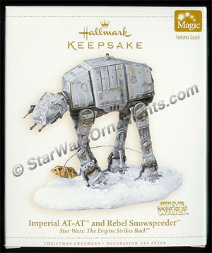 2006 Imperial AT-AT and Rebel Snowspeeder, Star Wars DB