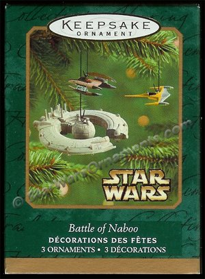 2001 Battle of Naboo, Star Wars DB