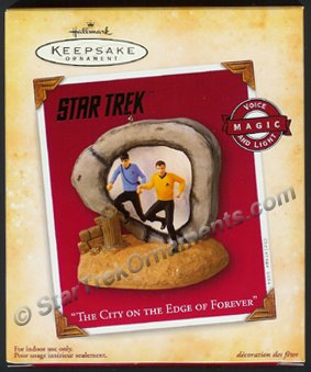 2004 The City on the Edge of Forever, Star Trek - NO SOUND