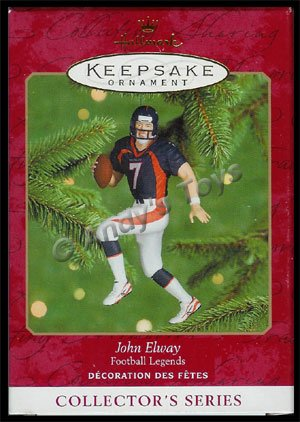 2000 John Elway, Football Legends #6 - DB