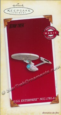 2005 USS Enterprise NCC-1701-A, Star Trek - DB