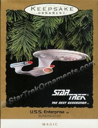 1993 USS Enterprise D, Star Trek - DB