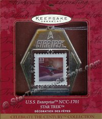 1999 USS Enterprise Stamp, Star Trek