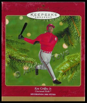 2000 Ken Griffey Jr. Cincinnati Reds, At the Ballpark