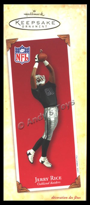 2003 Jerry Rice Oakland Raiders, Football Legends