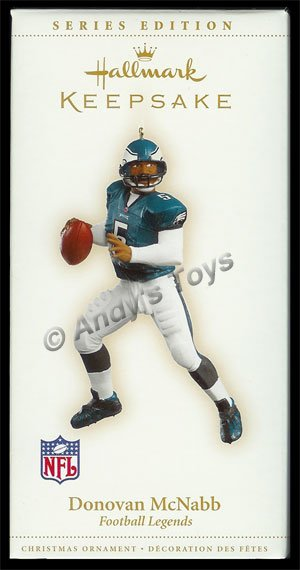 2006 Donovan McNabb, Football Legends #12 - DB