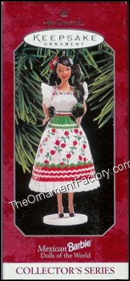 1998 Mexican Barbie, Dolls of the World #3