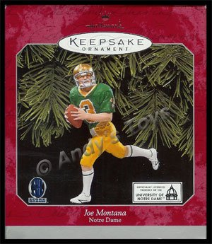 1998 Joe Montana, Notre Dame Football