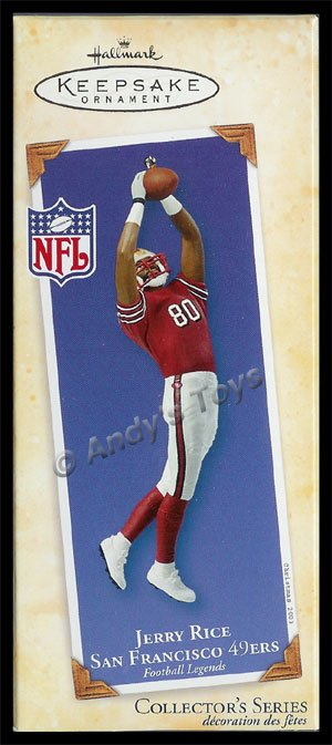 2003 Jerry Rice, San Francisco 49ers, Football Legends #9 DB