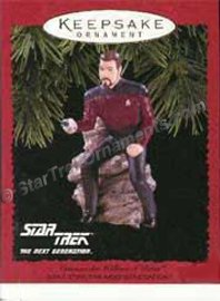 1996 Commander William T. Riker, Star Trek DB