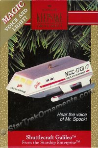 1992 Shuttlecraft Galileo, Star Trek - DB