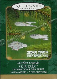 2001 Starfleet Legends, Star Trek - DB