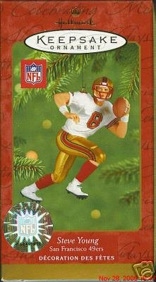 2001 Steve Young, Football Legends - DB