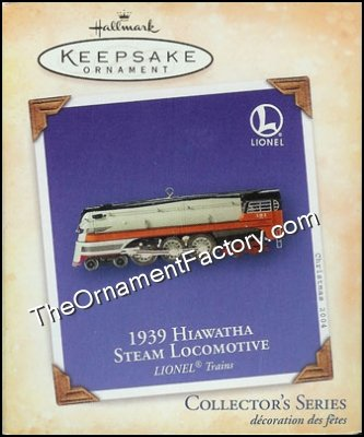 2004 Lionel #9 - 1939 Hiawatha Steam Locomotive, Lionel Trains DB
