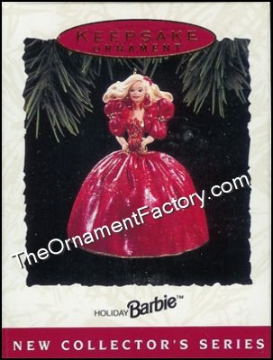 1993 Holiday Barbie #1 - DB