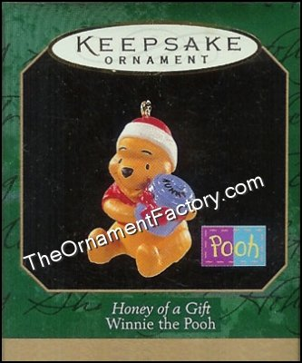 1997 Honey of a Gift, Disneys Pooh, Miniature