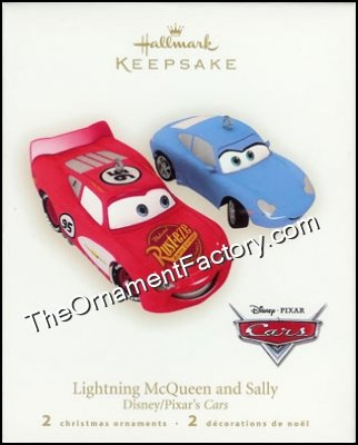 2007 Lightning McQueen and Sally, Disneys Cars