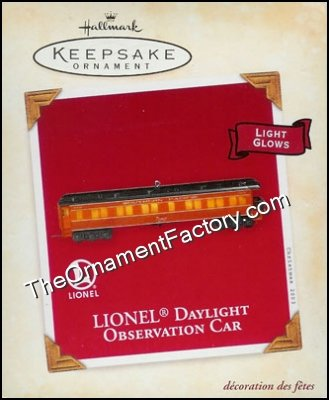 2003 Lionel Daylight Observation Car, Lionel Trains