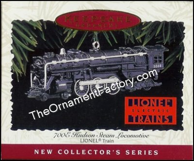 1996 Lionel #1 - 700E Hudson Steam Locomotive, Lionel Trains DB