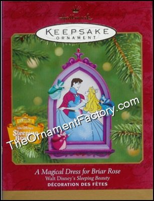 2001 Magical Dress for Briar Rose, Disneys Cinderella