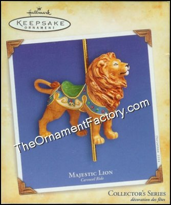 2004 Carousel Ride #1, Majestic Lion