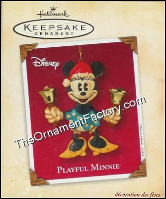 2002 Playful Minnie, Disney