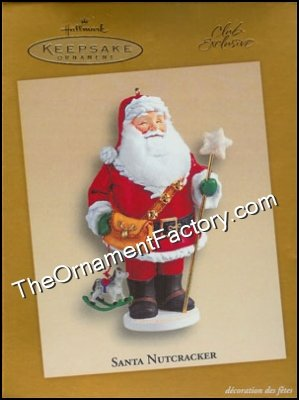 2005 Santa Nutcracker, Club Ornament
