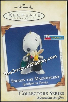 2005 Spotlight on Snoopy #8 - Snoopy the Magnificent, PEANUTS