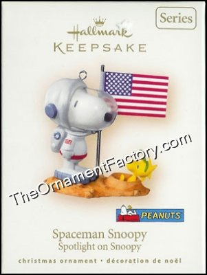2007 Spotlight on Snoopy #10 - Spaceman Snoopy