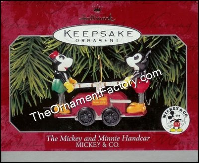 1998 Mickey and Minnie Handcar, Mickey and Co